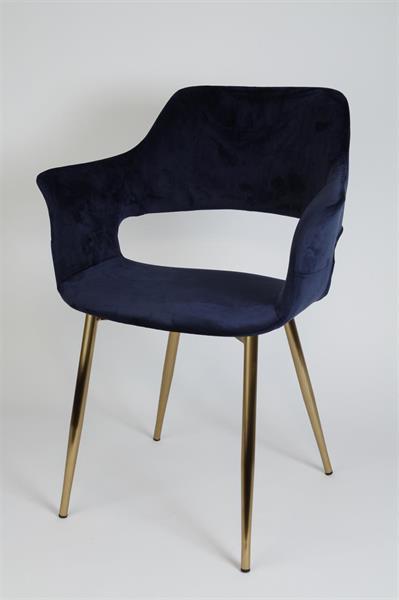 Stol Flap marinblå