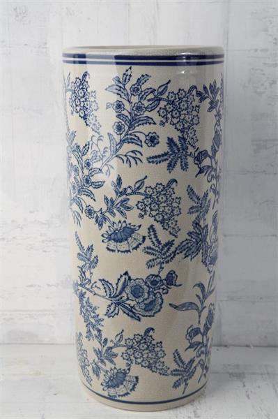 Kruka/urna kina blå