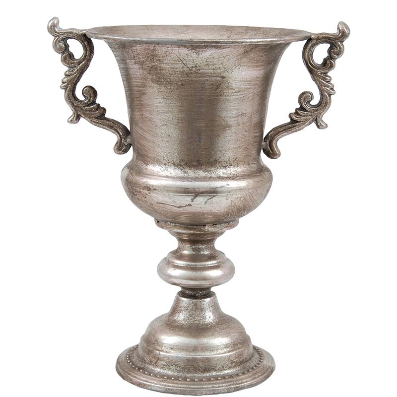 Kruka/urna Penia silver