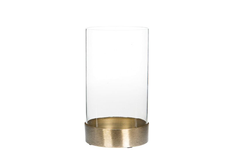 Ljuslykta Circum liten guld