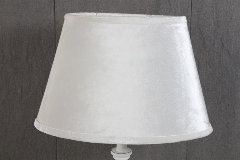 Lampskärm oval off white
